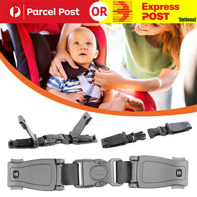 Car Safety Seat Houdini Strap Chest Clip Buggy Harness Lock Buckle Highchairs AU