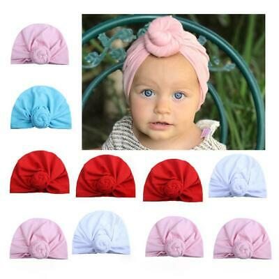 Baby Toddler Bunny Rabbit Bow Knot Turban Headband Hair Band Headwrap Girls Top