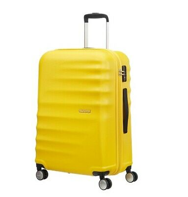 Trolley American Tourister wavebreaker L size spinner 15G*003 sunny yellow