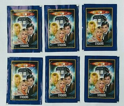 Dr Who Stickers (6x sealed packs) - Merlin/BBC 2006