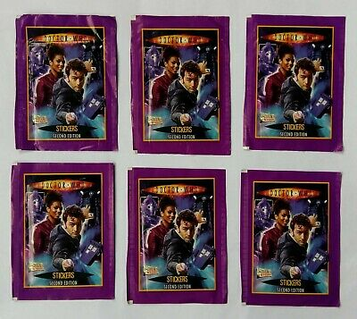 Dr Who Stickers 2nd Edition (6x sealed packs) - Merlin/BBC