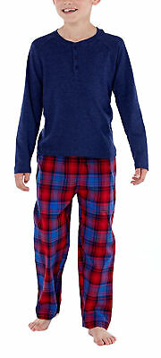 i-Smalls Girl's and Boy's Plain Top & Checked Bottoms