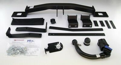 Tow Bar for BMW 5 Series F10 Saloon 2010 on models - Vertical Detachable Ball