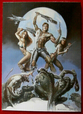 IMAGES OF JOSEPHINE - Individual Card #63 - MUTANTS by Boris Vallejo - 1997