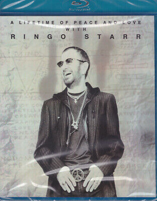 Ringo Starr - A Lifetime of Peace & Love Blu-ray NEW The Beatles