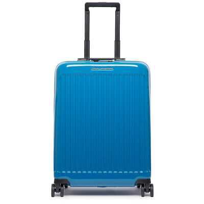 NEW PIQUADRO Trolley Seeker Blue TSA lock - BV4425SK70-BLU