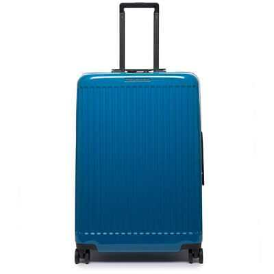 NEW PIQUADRO Trolley Seeker Blue TSA lock - BV4427SK70-BLU