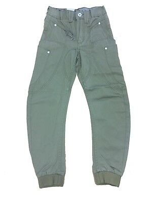 New Boy's Designer ETO EB141 Funky Cuffed Chino Pants Trousers Bottoms