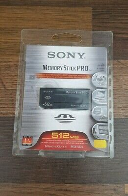 Sony 512 MB Memory Stick PRO Memory Card (MSX-512S) New