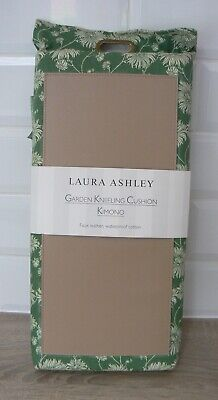 Laura Ashley Garden Kneeling Cushion Pad Green Kimono Leather Cotton Bnip