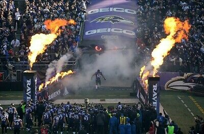 Ravens / Steelers 2 tix. 2nd Row! Right on the tunnel. (Sec 117 Row 2 M&T 12/29)