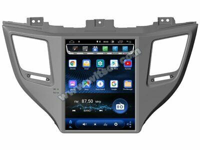 Autoradio Vertical Screen Android 8.1 2GB/16GB/Hyundai Tucson 2015 GPS Mp3