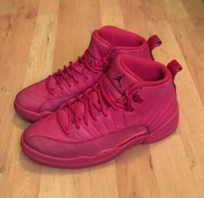 best service 922ea 42d76 NIKE AIR JORDAN Retro 12 XII Gym All Red Bulls Toro Shoes Size 8 130690-601