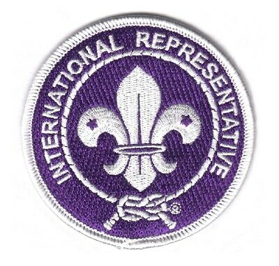 70140 24th WORLD SCOUT JAMBOREE 2019 - INTERNATIONAL REPRESENTATIVE PATCH