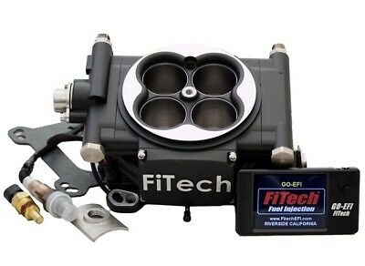 FITECH30002, Fuel Injection, Go EFI 4, Throttle Body, Square Bore, 70 In/hr Inj