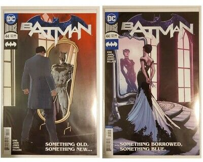 Batman #44 First Print & Catwoman Variant Cover! Wedding Prelude! Nm Or Better!!