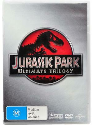 Jurassic Park: Ultimate Trilogy (DVD, 2015) 3 Disc Set Region 2, 4