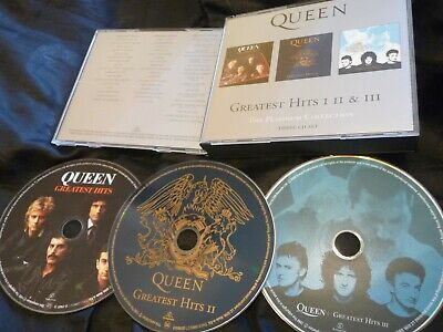 Queen The Platinum Collection Greatest Hits 1/2/3 Cd