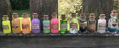 Harry Potter Magic Potion Set -  Amorentia, Felix Felicus, Veritaserum, Wolfsban