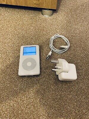 Apple iPod photo Classic 4th Generation White (60GB) Fully Working Retro