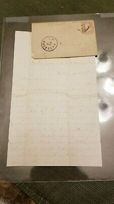 Lincoln Assassination Civil War letter 4-26-1865