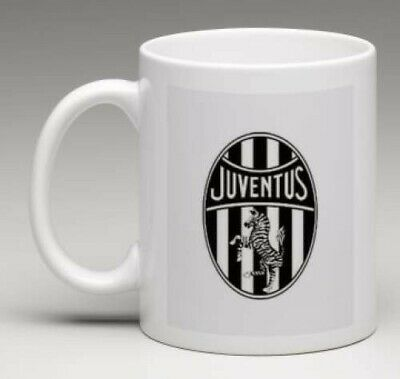 JUVENTUS FC Retro Club JUVE Badge Football Mug Gift Personalised MJUVEFC1