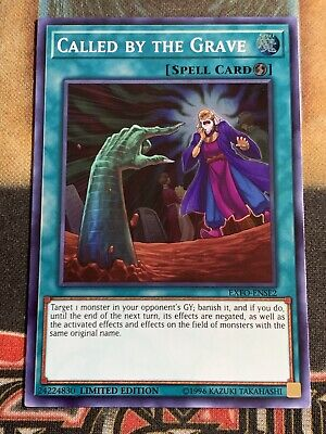 Yugioh Called By The Grave EXFO-ENSE2 Super Rare