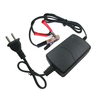 12V 1A Battery Charger Maintainer Tender Trickle Automatic Motorcycle 1 Pc/Set