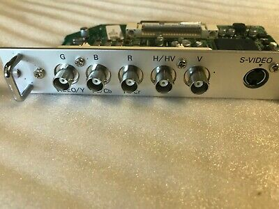 Sanyo POA-MD25VD3 RGB component video board