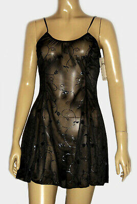 Underwire Cups Baby Doll Satin Nightgown Lingerie Faris