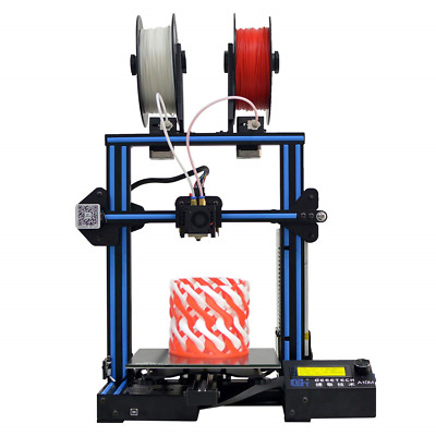 GEEETECH A10M 3D Printer with Mix-color printing, Dual extruder design, Filament
