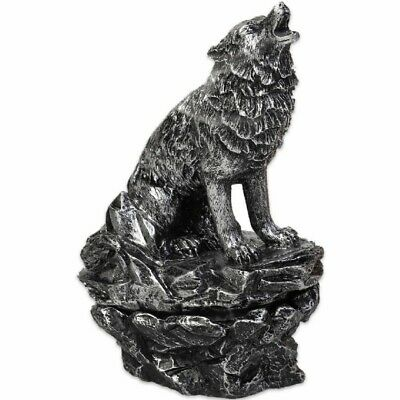 Howling Wolf Incense Cone Burner - 2 Cones Free