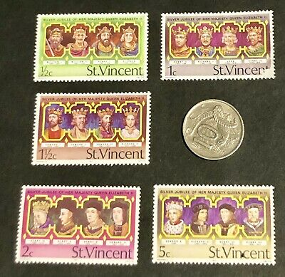 World Stamps - ST VINCENT mint hinged