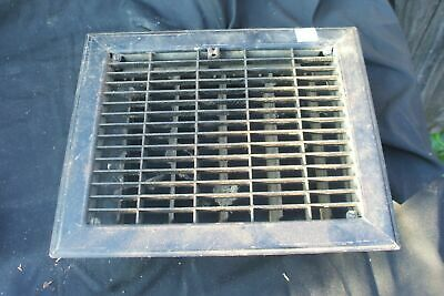 Heater Vent Grate Metal Rectangular Vintage Antique B10?