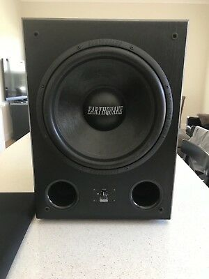 Earthquake Sound 400Watt High Performance Powered Subwoofer