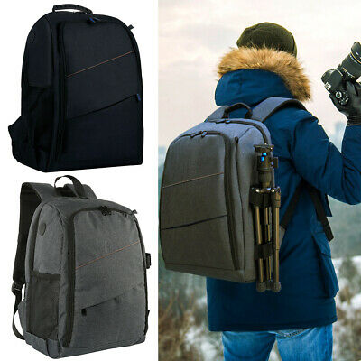 Large Camera Backpack With Waterproof Cover For Canon Nikon Sony Camera backpack