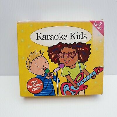 Karaoke Kids - Nursery Rhymes & Songs - 3 CD Set - CDG On Screen Lyrics