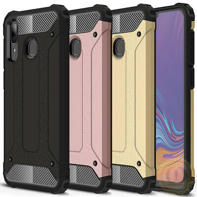 For Samsung Galaxy A20e Case Rugged Armor Hybrid ShockProof Protective Cover