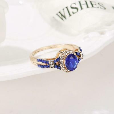 Women Ring Fashion Crystal Engagement Jewelry Type Big Crystals Cubic Zircon top