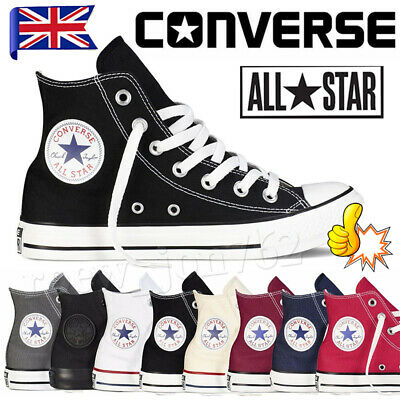 Unisex Converse All Star Classic High Tops Chuck Taylor Trainers Men Women Shoes