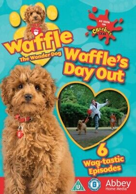 Waffle the Wonder Dog: Waffle's Day Out (DVD, 2018) *NEW/SEALED* FREE P&P