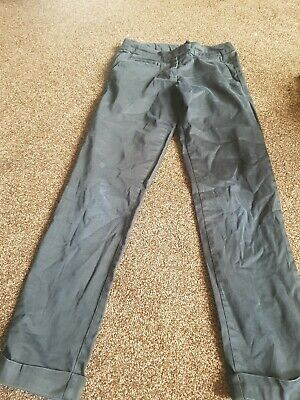 Next girls age 10 trousers black