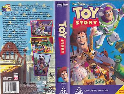 Toy Story  Vhs Pal Video A Rare Find