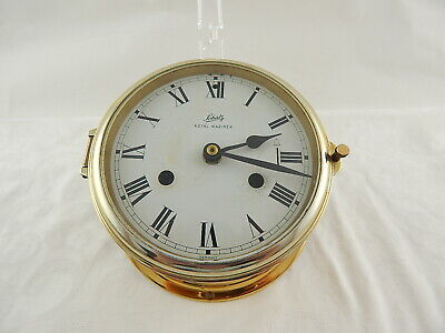 Antico Schatz Royal Mariner Germany Orologio Ship's Bell Clock Modificato