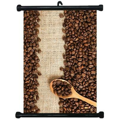 sp217070 Coffee Shop Wall Scroll Poster For Cafe Display
