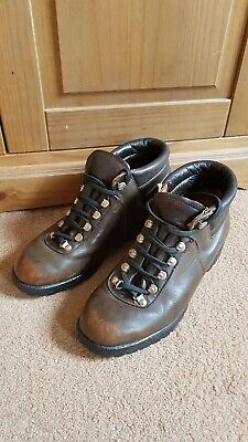 93ecd3bf78f HAWKINS LEATHER HIKING Boots Men's Size Eu 42 Uk 8 Good Condition ...