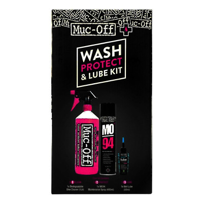 New Boxed Muc-Off Wash Protect & Lube kit – 3 Great Products