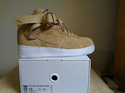 fffc79362e9af NEW SZ 7.5 Men's Nike Air Force 1 Mid CMFT Victor Cruz Vachetta Tan ...