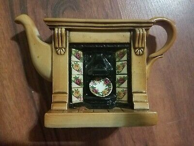 Royal Albert Old Country Roses Earthenware By Paul Cardew Teapot 1996 free ship