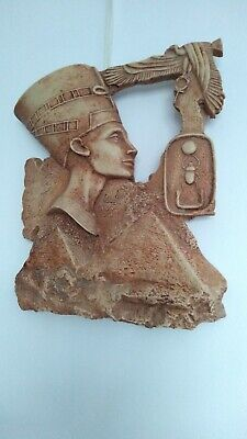 PHARAONIC Ancient Egyptian stone wall hanging plaque hieroglyphics  Cleopatra